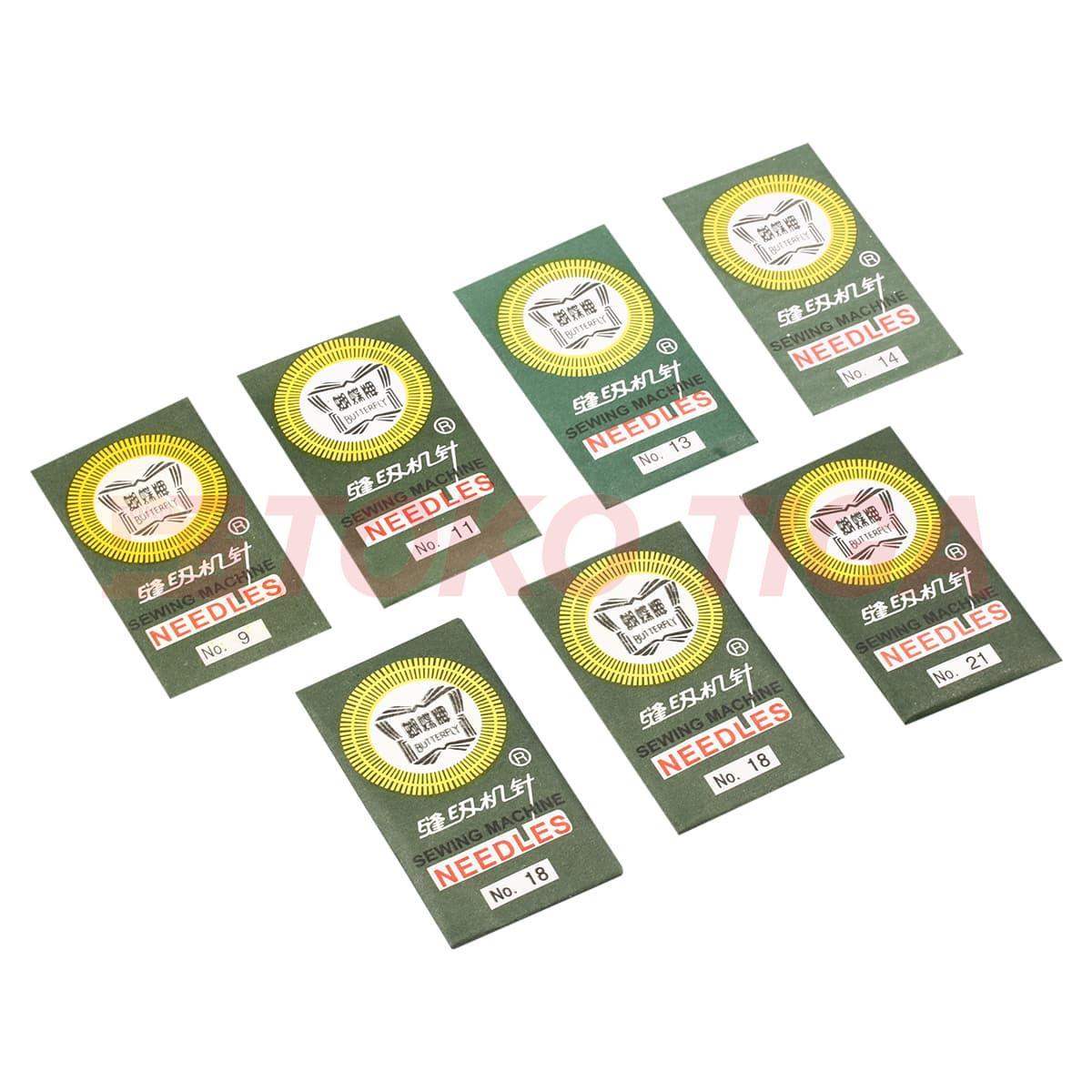 PROMO!! TERMURAH Jarum Mesin Jahit Merk BUTTERFLY Portable & Multifungsi