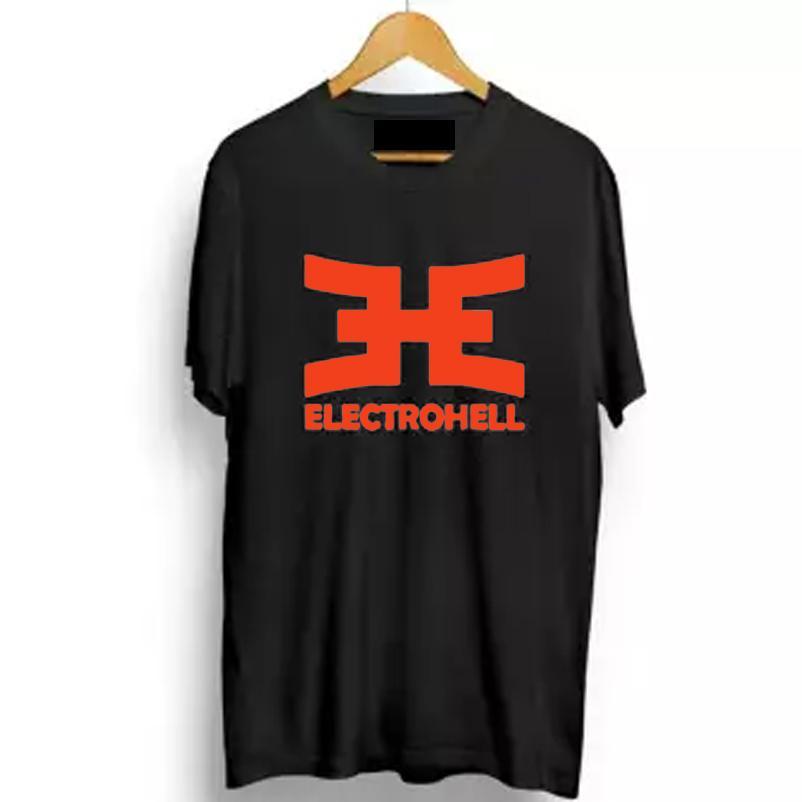 Kaos Electrohell / Tshirt Electrohell / Baju Distro Electrohell Red Print