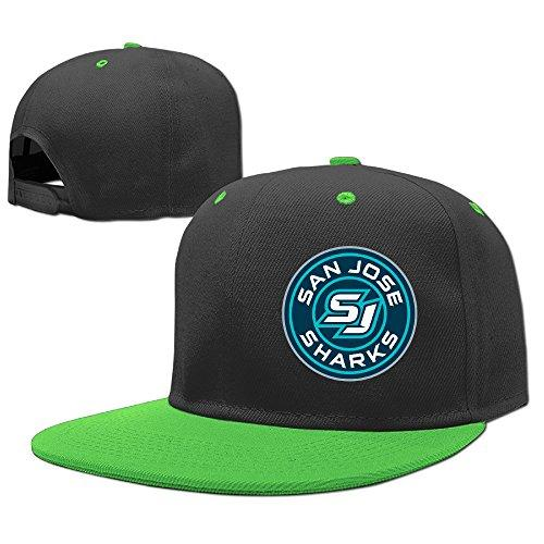 San Jose Sharks SJ Sharkie Roundel Logo Hockey Peter DeBoer Girls Rock Punk Caps Cool Trucker Hats