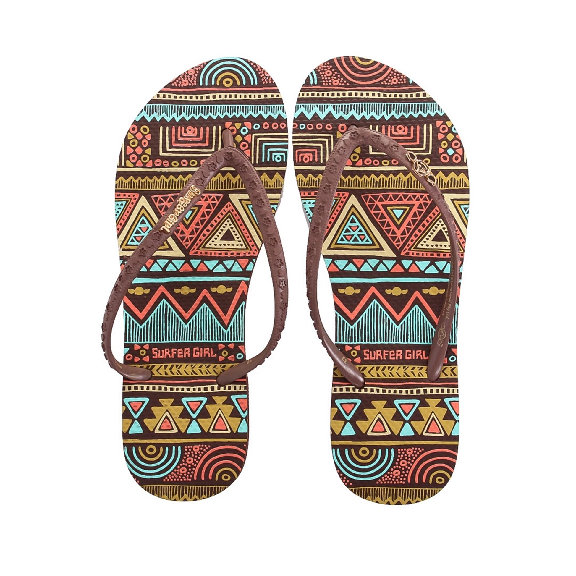 Sandal Surfer Girl ORI S007 Brown