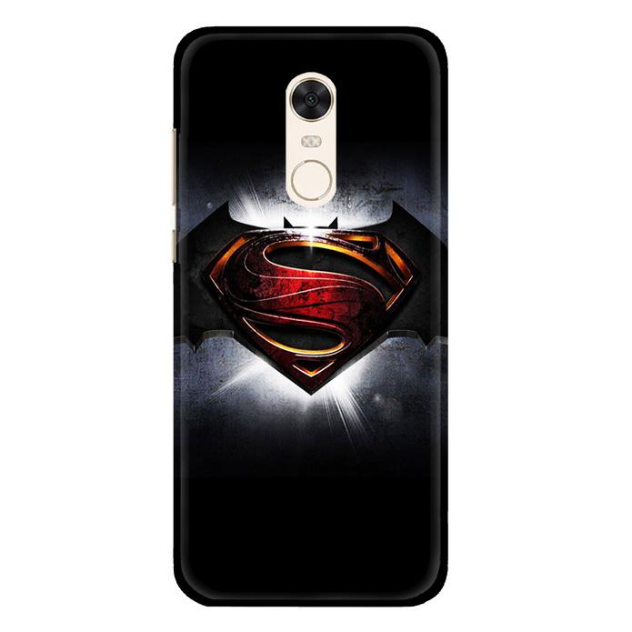 Casing Hardcase Xiaomi Redmi 5  Motif Batman Vs Superman V0076