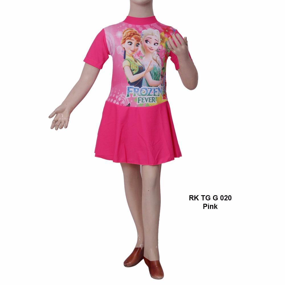 Baju Renang Anak Diving Rok Usia 6-11 TAHUN