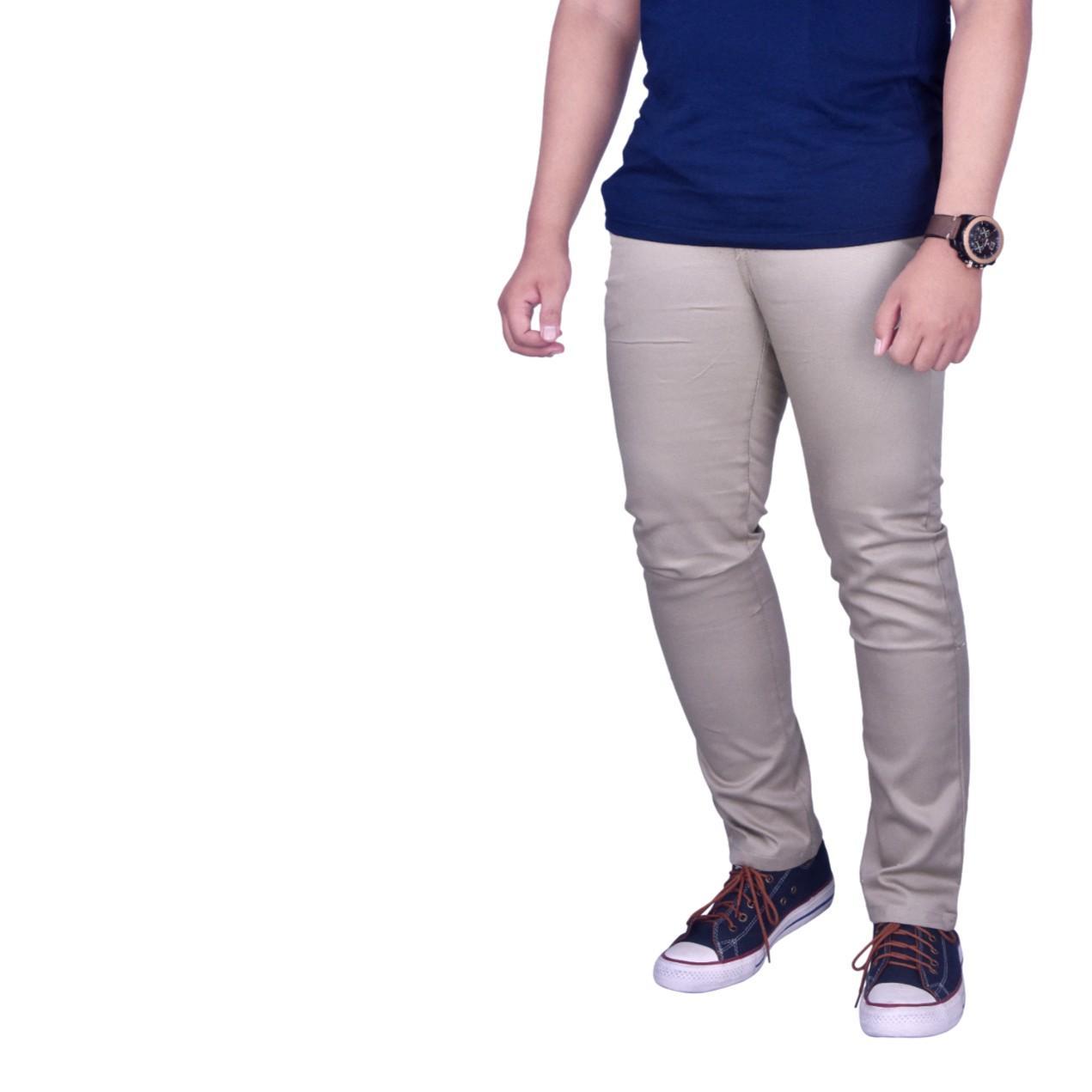 Dgm_Fashion1 Celana Panjang Chinos Cream Best Seller/Celana Panjang Chinos/Celana Chino Import /