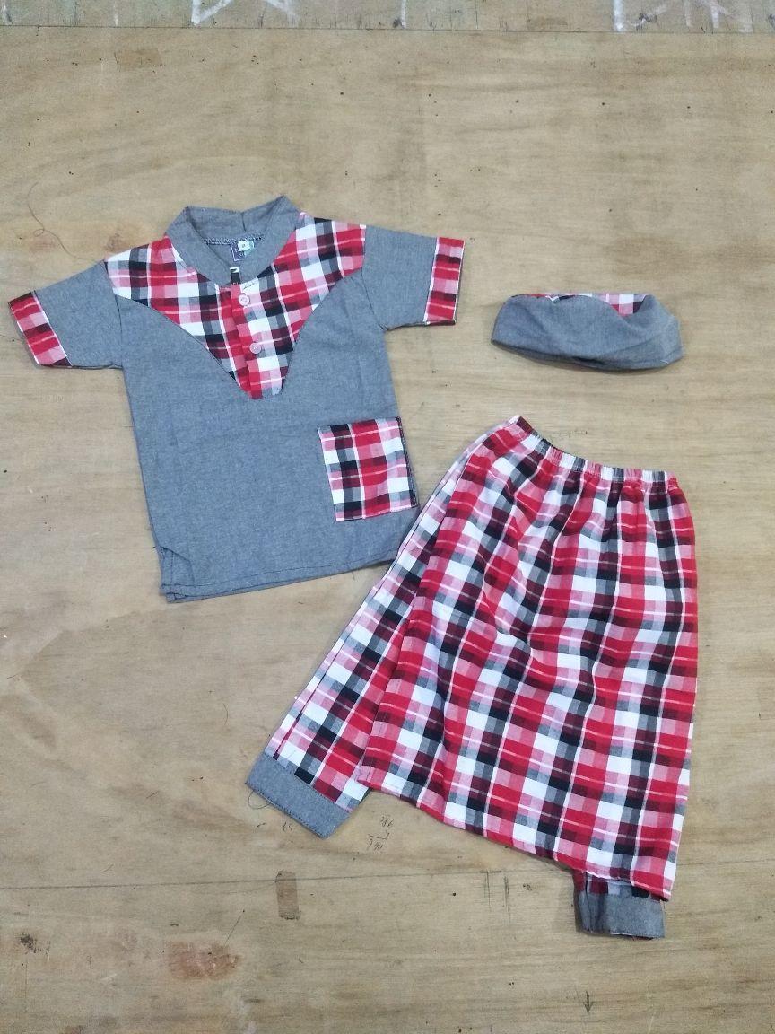 Set Koko Sarung Celana Anak 6 bulan - 1 tahun - Koko turki bayi - baju lebaran bayi laki-laki - Pakaian Anak cowok - Sarkoci