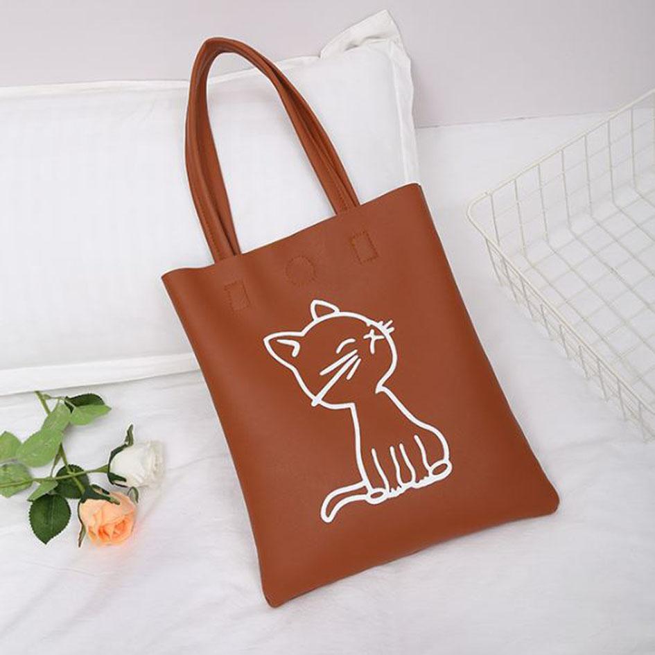 OILA tas tote kucing cat tote shoulder bag bta406