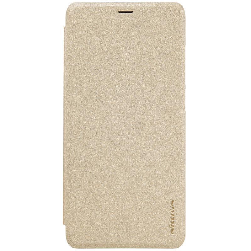 Nillkin Sparkle Flip Case Cover Xiaomi Redmi 5 - Gold