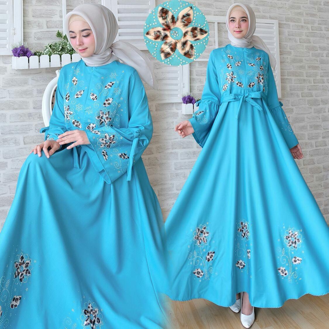 Syari i wanita - Gamis wanita - Maxi wanita - Baju muslim terbaru - Busui - MF Tosca