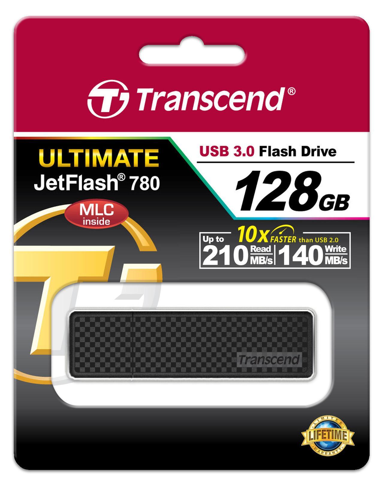 Transcend Flashdisk 128GB JetFlash 780 [128 GB/ USB 3.0/ MLC]