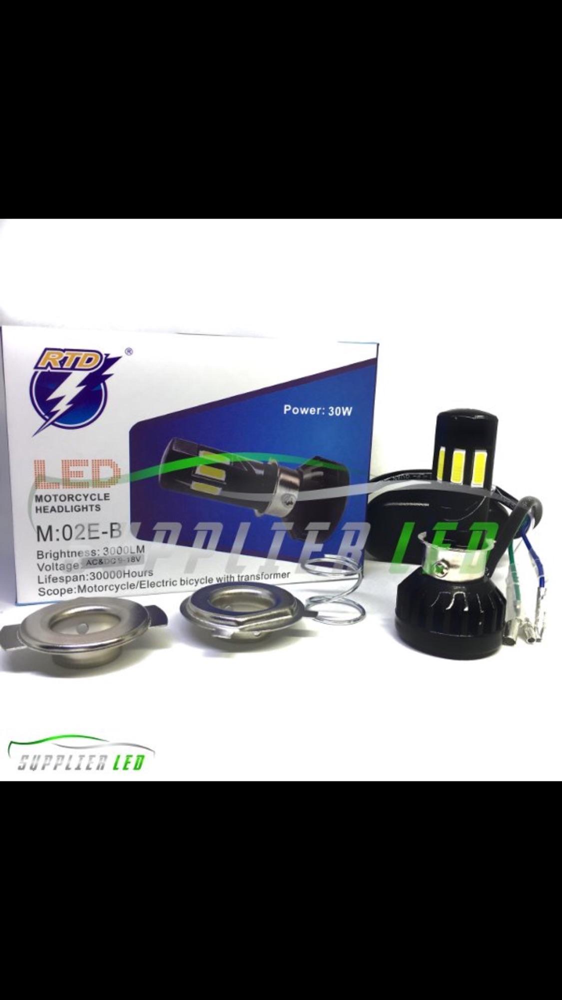 Bohlam Led Hid Motor Terbaru Headlamp Rtd M11p H4 Lampu Utama 6 Sisi Mobil M02e B
