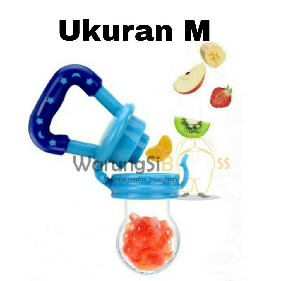 WarungSiBoss 1 Pcs Empeng Buah Bayi / Dot Buah Bayi / Empeng Dot Buah / Fruit Pacifier / Baby Food Feeder - Ukuran M