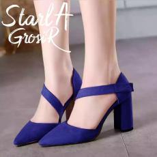Starla Grosir - Sandal Wanita Chunky Heels DD - 04