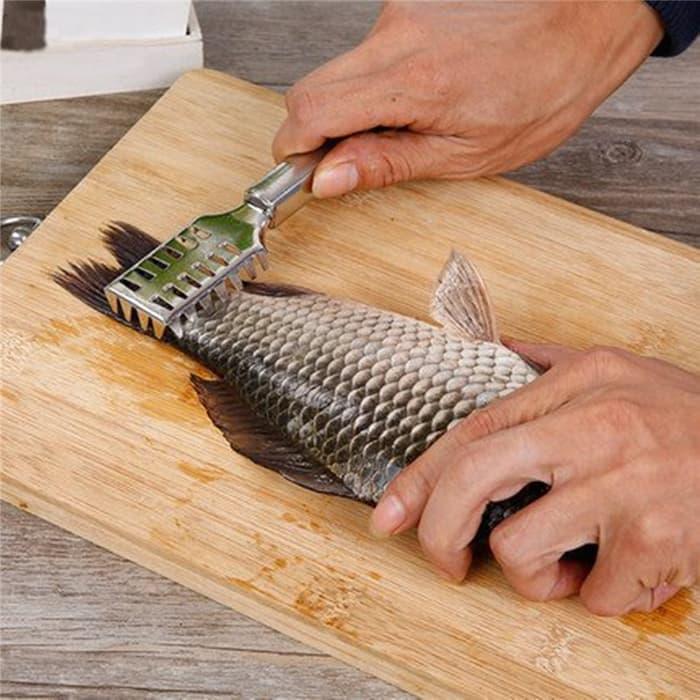 HARGA DISKON!!! Pembersih Sisik Ikan - Qh62FB