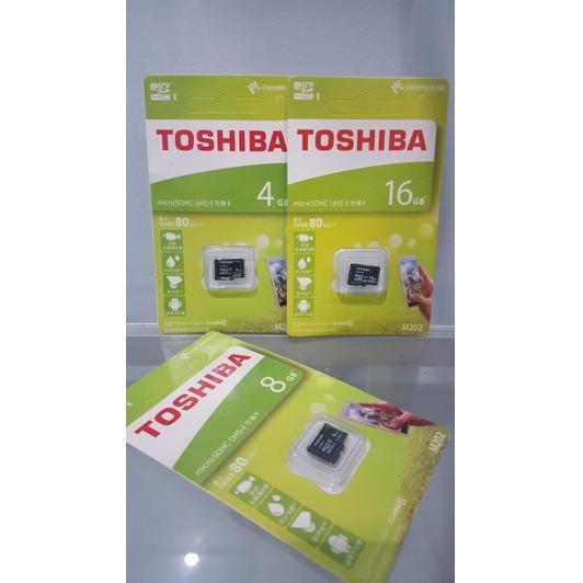 MICRO SD TOSHIBA 16 GB / MEMORI HANDPHONE