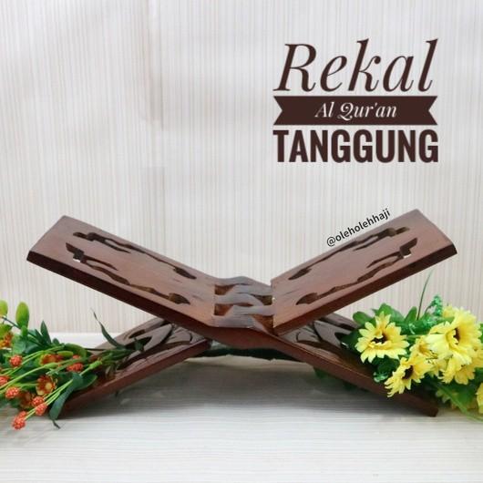 Rekal Baca Al Quran Kayu Alas Ukir - Tanggung By Asro Shop.