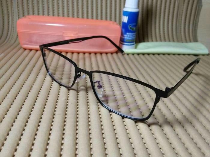 kacamata metal gratis lensa photocromic transisi