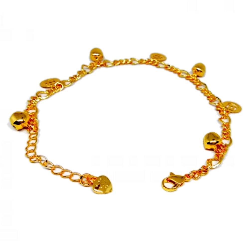 Xuping Gelang Kaki Wanita Fashionable Zaman Now - Xuping Gold