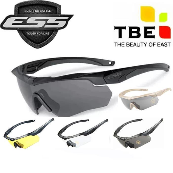 Sepeda Berkendara Sun Kacamata Kacamata UV400 Lens Black Frame Lensa Kuning  (. 14e1b4bf4b