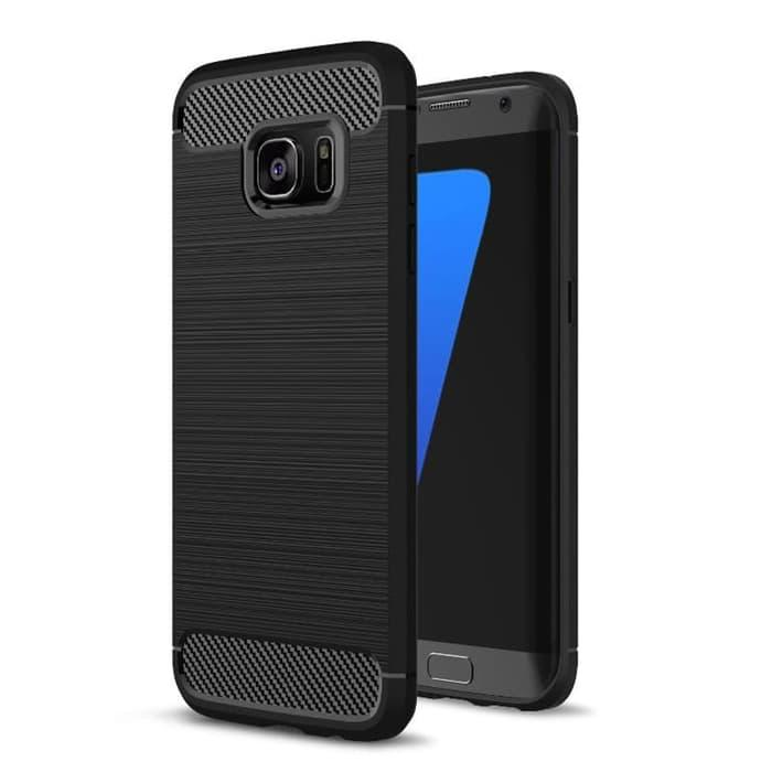 Case Ipaky Carbon Fiber for Samsung Galaxy S6 Edge