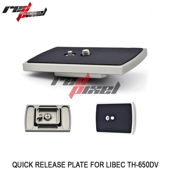 Sedang Diskon!! Quick Release Plate For Libec Th-650Dv - ready stock