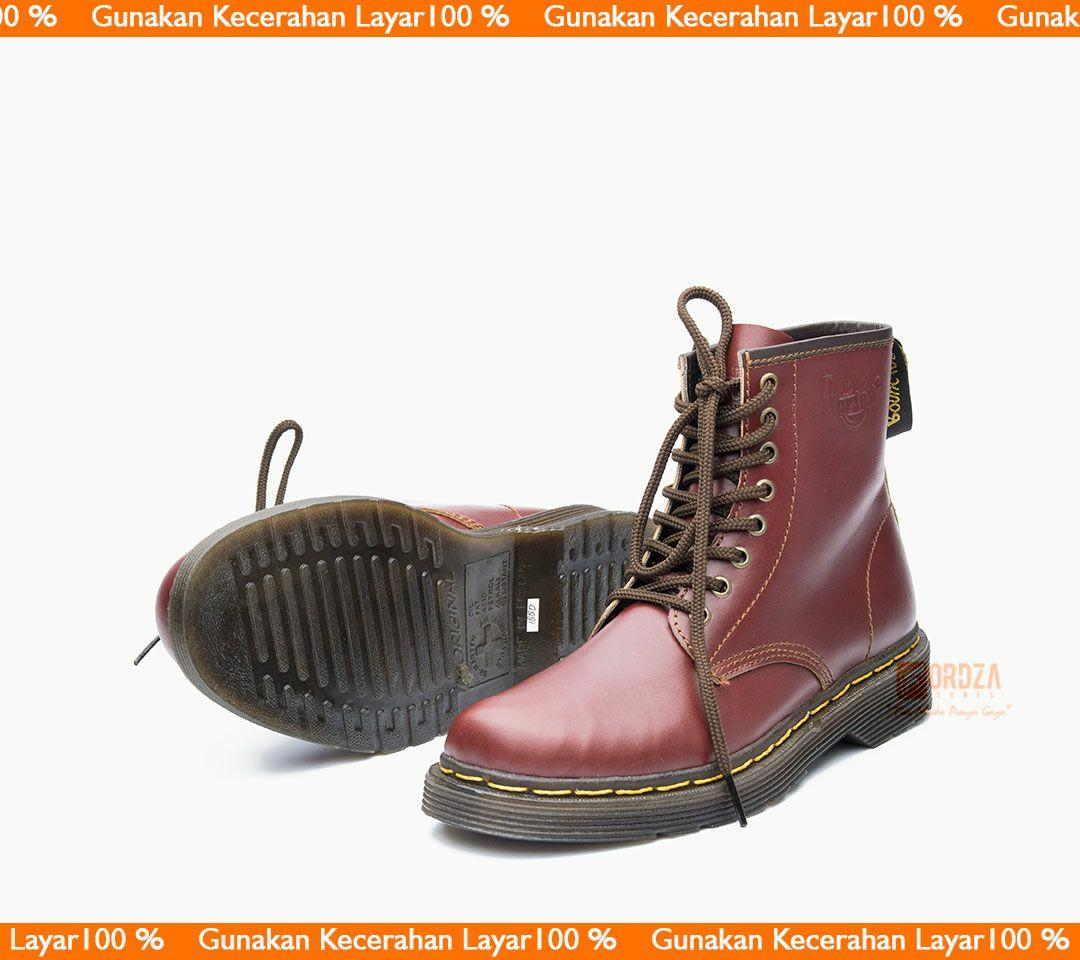 Sepatu Boot Pria Boots Casual Kulit Asli Docmart Model Dr Martens 1080