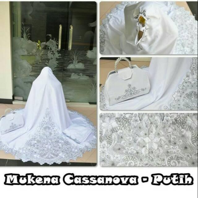 Mukena Casanova (putih)