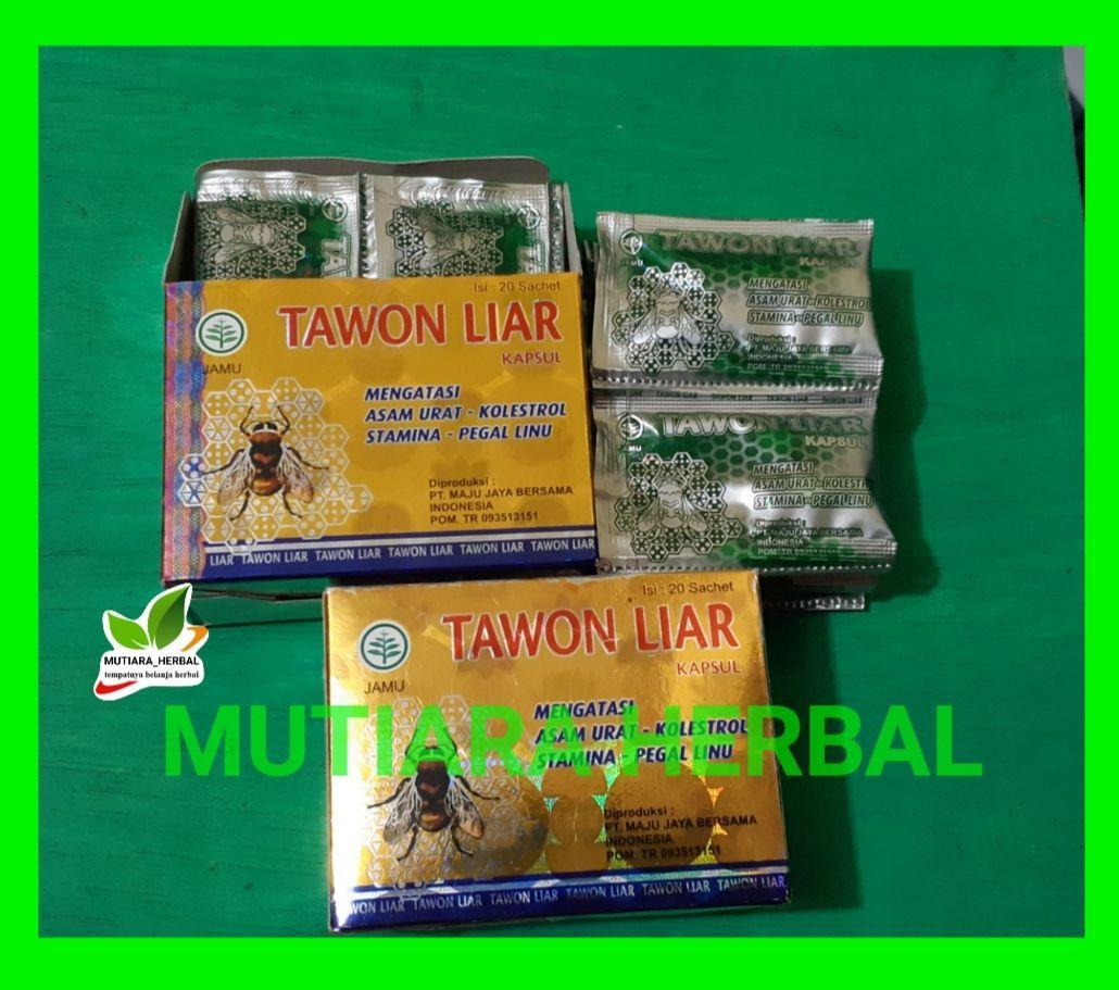 Tawon Liar Asam urat dan kolesterol isi 20 Sachet