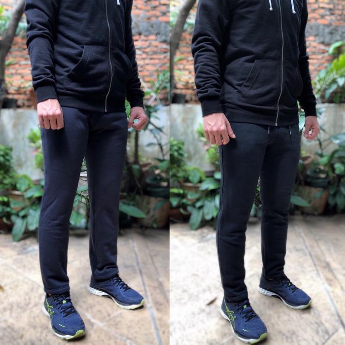 Celana Jogger Uniqlo Pile-Lined Sweatpants