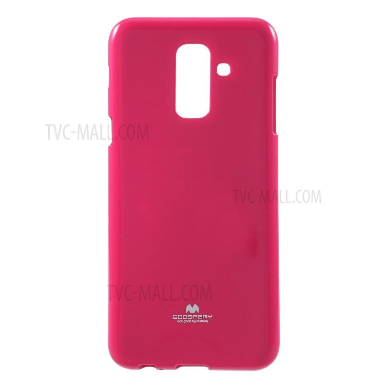 Mercury Jelly Soft Case for Samsung Galaxy A6 Plus 2018 - Hotpink
