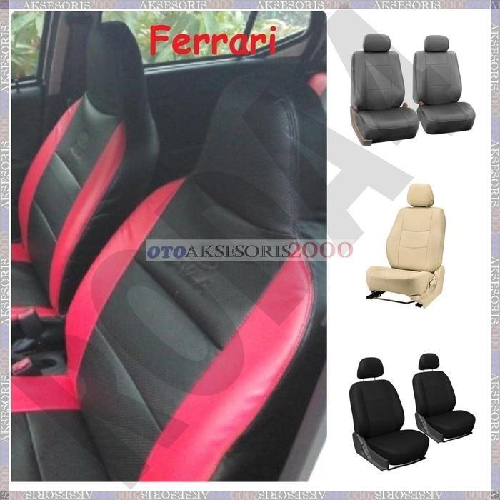Seat Cover / Sarung Jok Mobil Bahan Ferrari Karimun Wagon R
