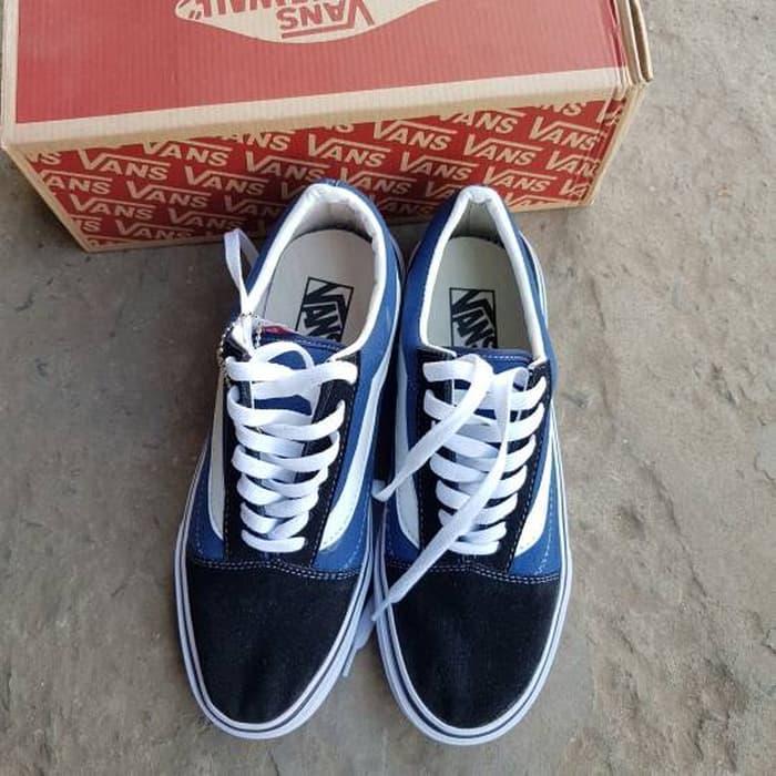 ORIGINAL!!! vans oldskool ifc/icc biru - P6wEWA