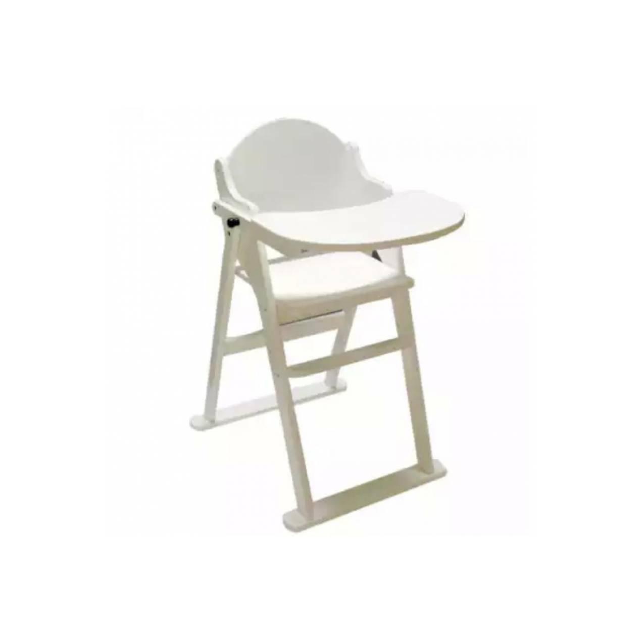 Babybelle High Chair seri Nicholas (Kursi makan bayi dari kayu)