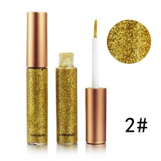HANDAIYAN Glitter Liquid Eyeliner Metalic Tahan Air - 5 ML 1