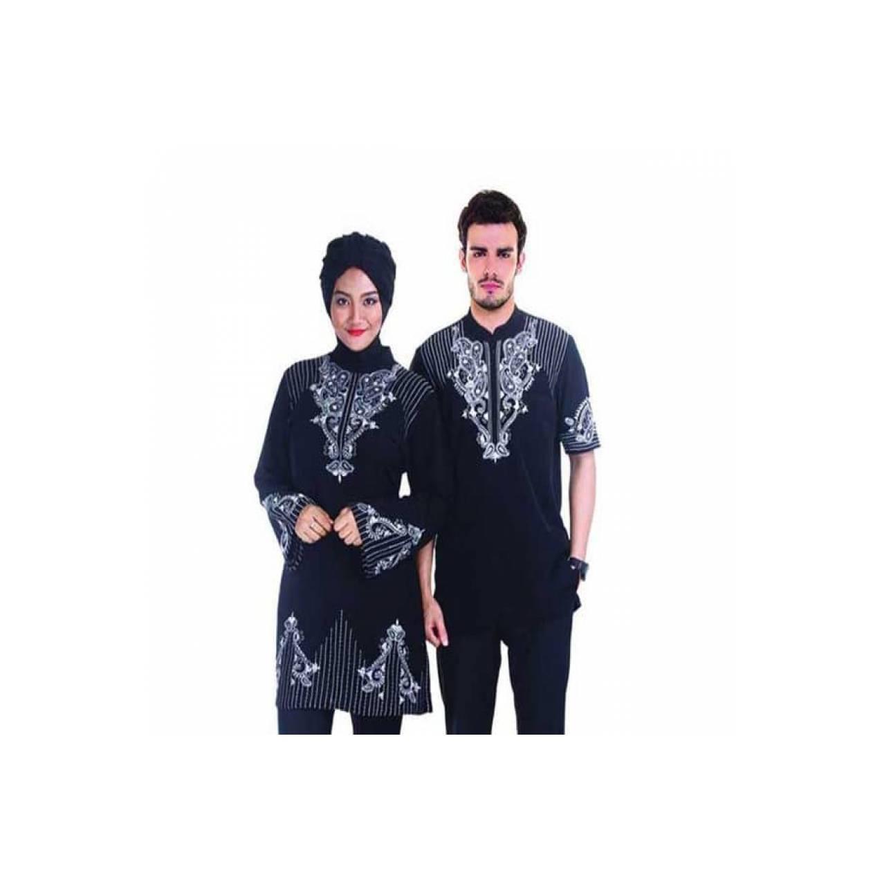 PROMO SPESIAL baju muslim couple terbaru / baju muslim pasangan