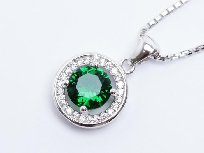 Kalung Perak EMAS PUTIH ASLI KOREA - WG 335 (Garansi 6 Bulan)