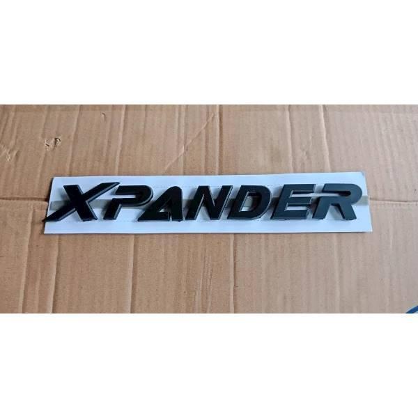 Emblem Kap Mesin Mitsubishi Xpander Hitam Doff