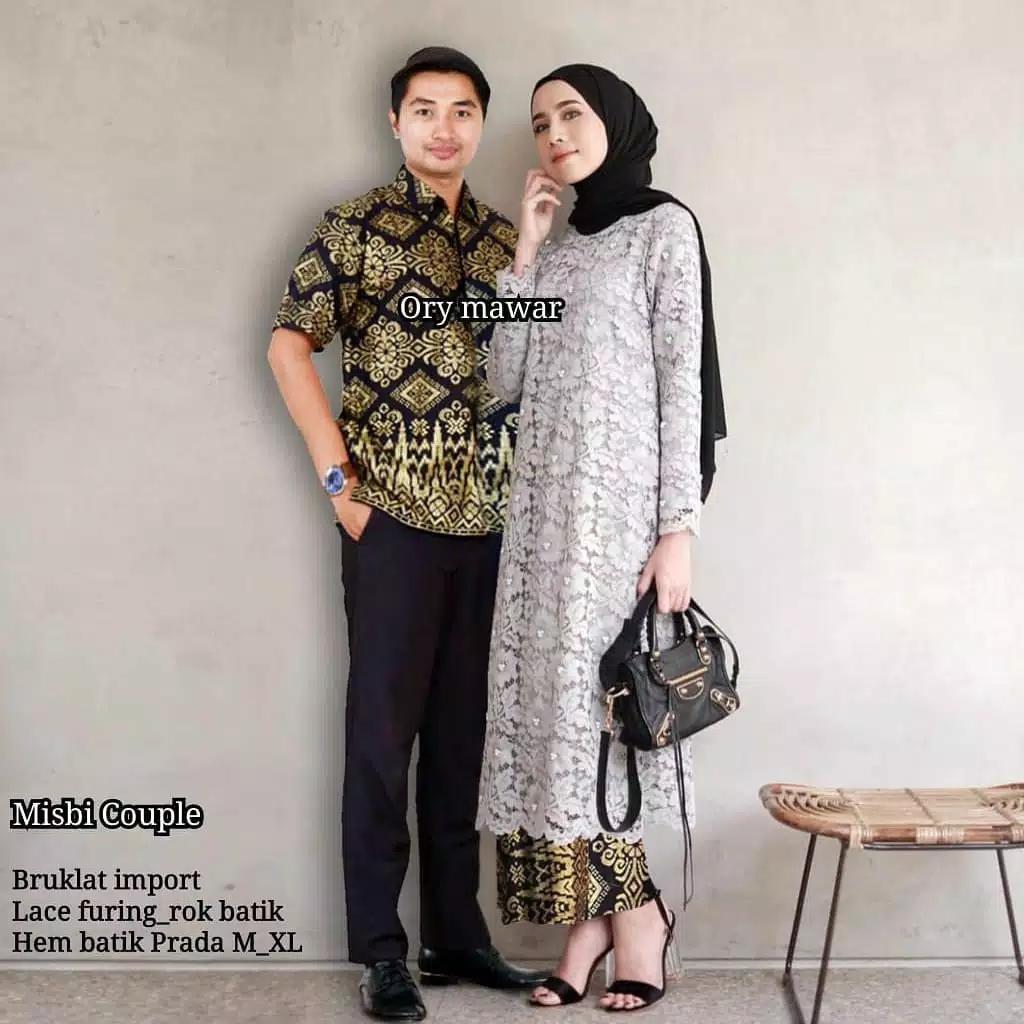 TERMURAH - Batik Couple   COUPLE BATIK   Baju Muslim Wanita Terbaru 2018    Couple Batik 811816bf45