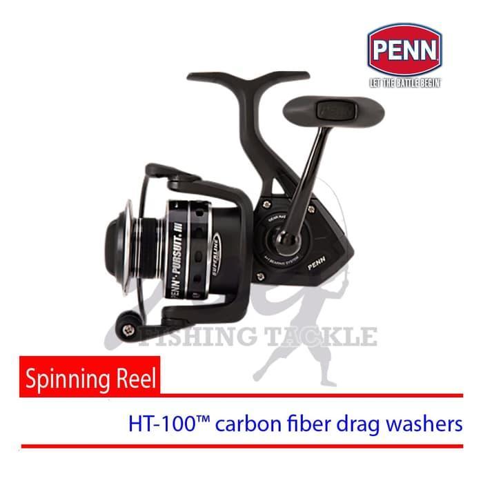 Obral Murah Penn Pursuit III 4000 Spinning Carbon Drag Reel Pancing Alat Mancing Harga Grosir