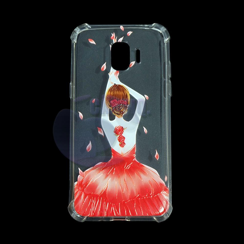 iCantiq Case Anti Crack Samsung Galaxy J2 Pro 2018 Case 3D Luxury Animasi Softcase Anti Jamur Air Case 0.3mm / Silicone Samsung J2 Pro 2018 / Silikon Anti ...