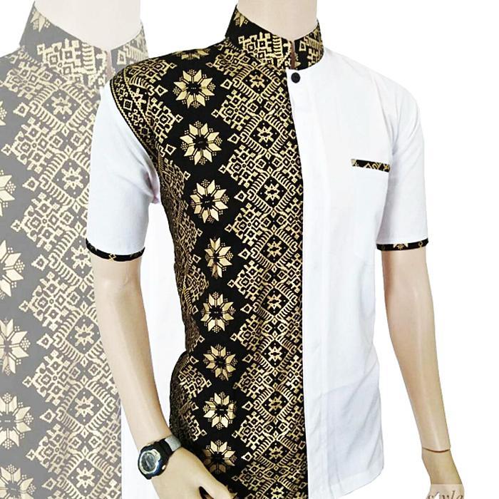Fashion Pria   Baju Koko   Kemeja Koko Batik Pria   Kemeja Batik Pria   Baju c243ee0217