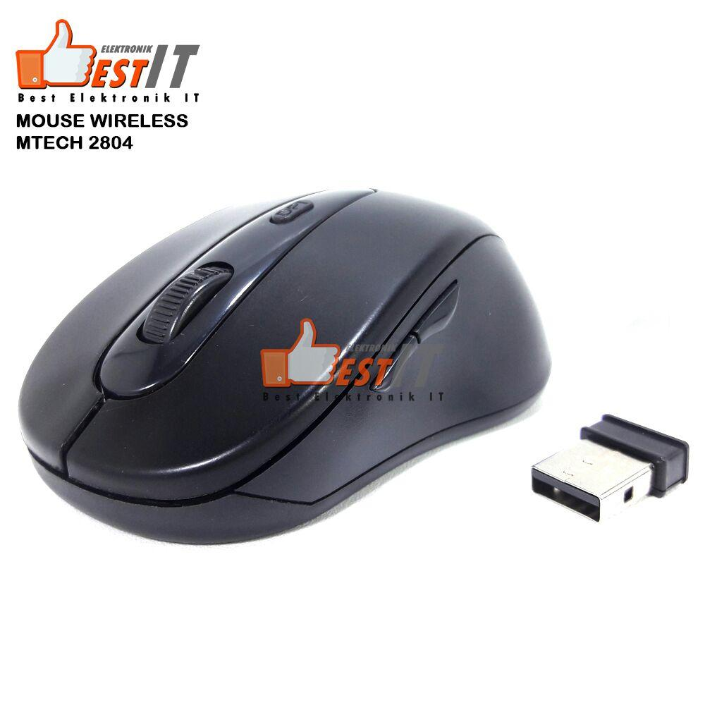 Mouse Wireless 2804 1600DPI Wireless Optical Mouse