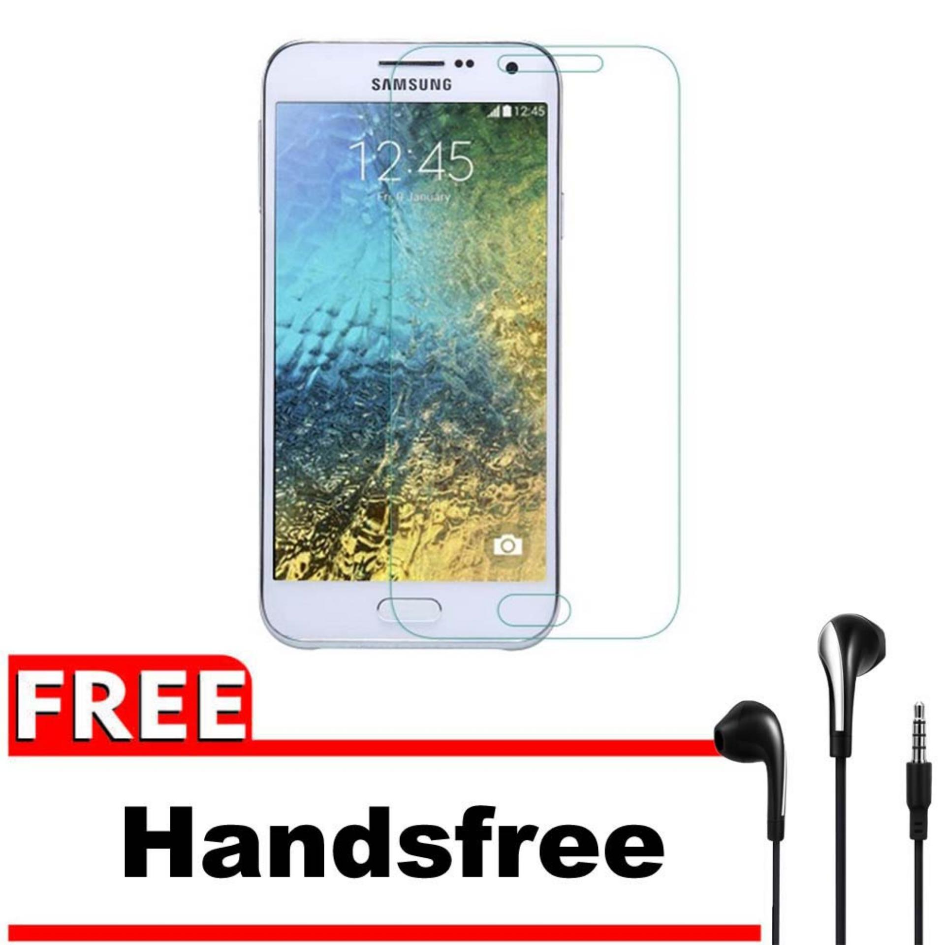 ... Tempered Glass 9H Screen Protector 0.32mm + Gratis Free Handsfree Earphone Headset Universal - Bening TransparanIDR15520. Rp 15.520