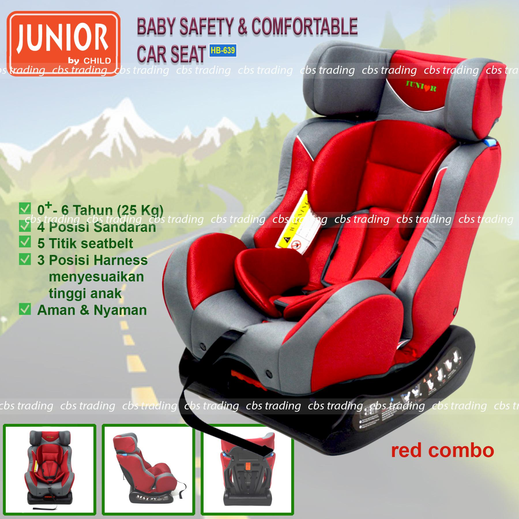 L'abeille Junior Baby Safety & Comfortable Car Seat HB-639 - Kursi Mobil