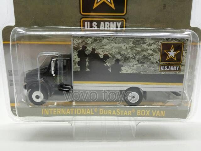 TERLARIS Greenlight 1:64 US Army 2013 International Durastar Box Van