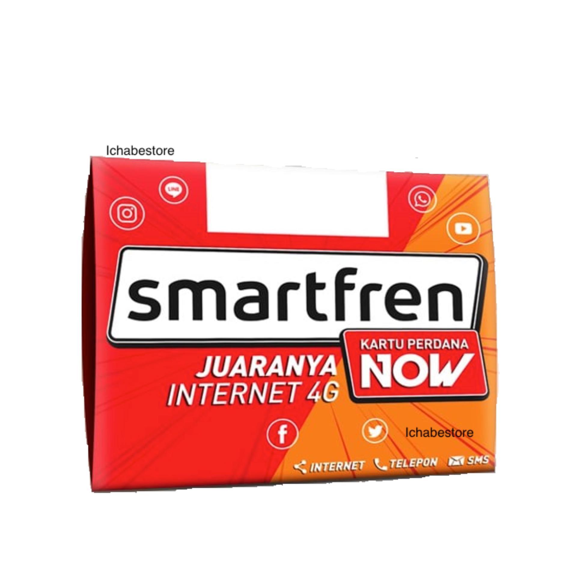 Smartfren Lazada Perdana 4g Gsm Kuota 22 Gb Now