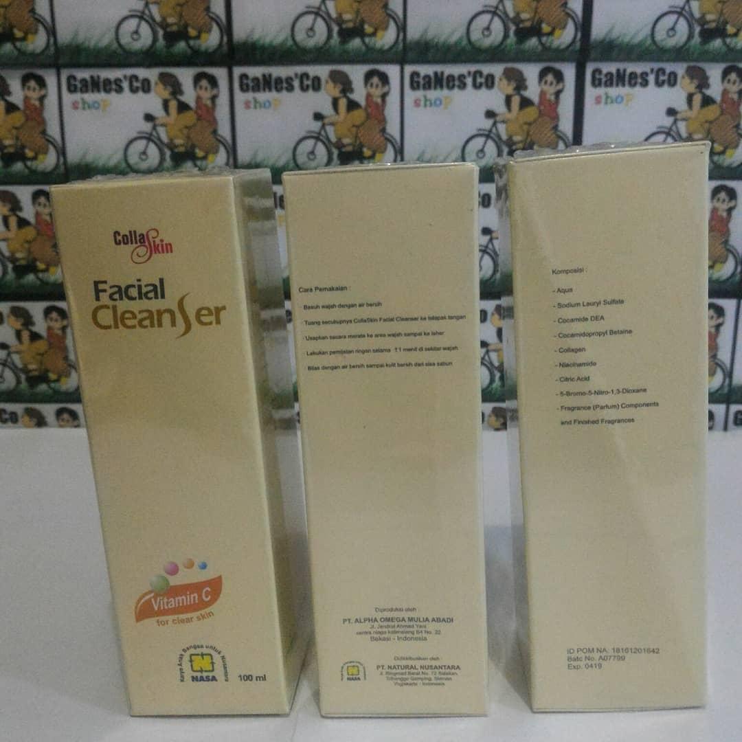 The Cheapest Price Nasa Collaskin Facial Cleanser 100ml Rp90000 Original Lakubingit