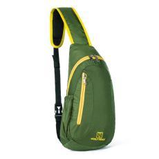 WOLF ROCK model uniseks Luar rumah tas selempang tas olahraga tas bahu dengan satu tali tas