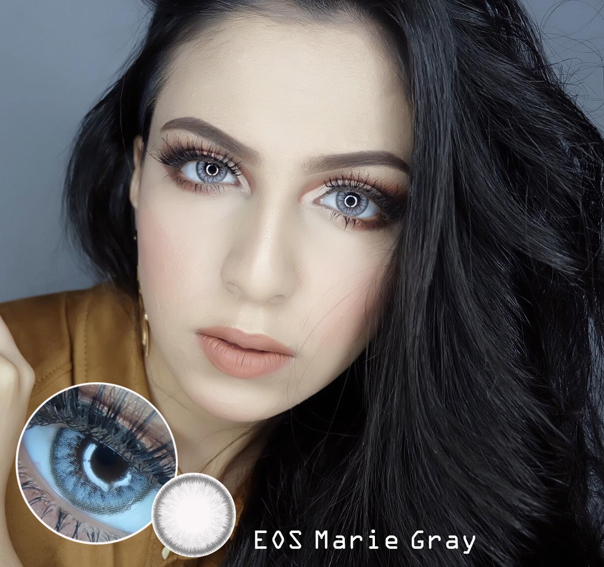 Softlens EOS Marie - Grey + Gratis Lens Case