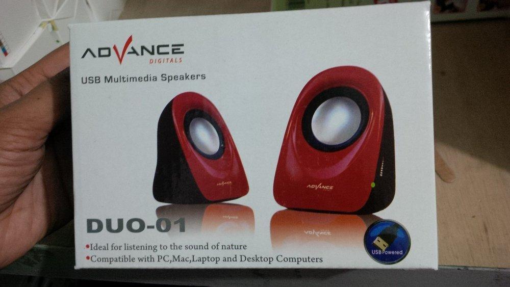 Speaker USB Multimedia ADVANCE DUO-01 F/Laptop MAC Desktop PC Komputer -  Speaker -  Audio -  Elektronik Terbaru - Speaker Aktif - Best Seller - Speaker Usb  - Speaker Laptop - Speaker Murah - Speaker Portabel