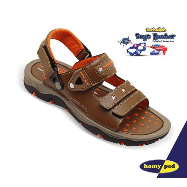HOMYPED CAPTAIN 01 Sandal Gunung Anak Brown