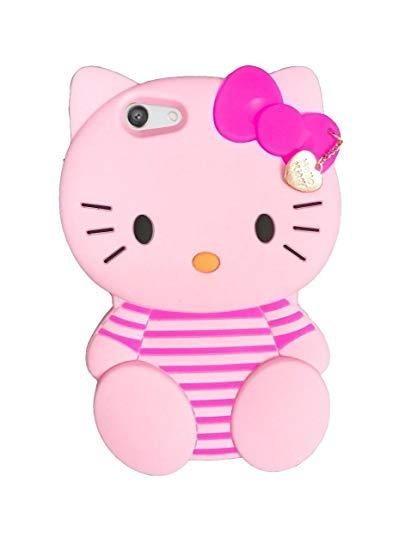 New Oppo A83 (Cover Hp Lucu) Softcase Boneka Hello Kitty/Pink